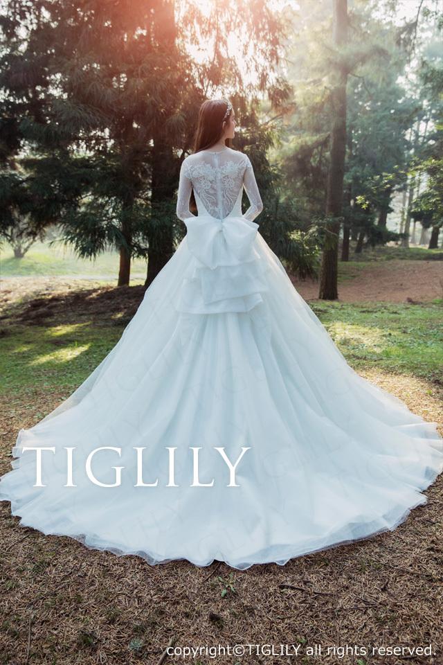 TIGLILY ホワイトドレスw323