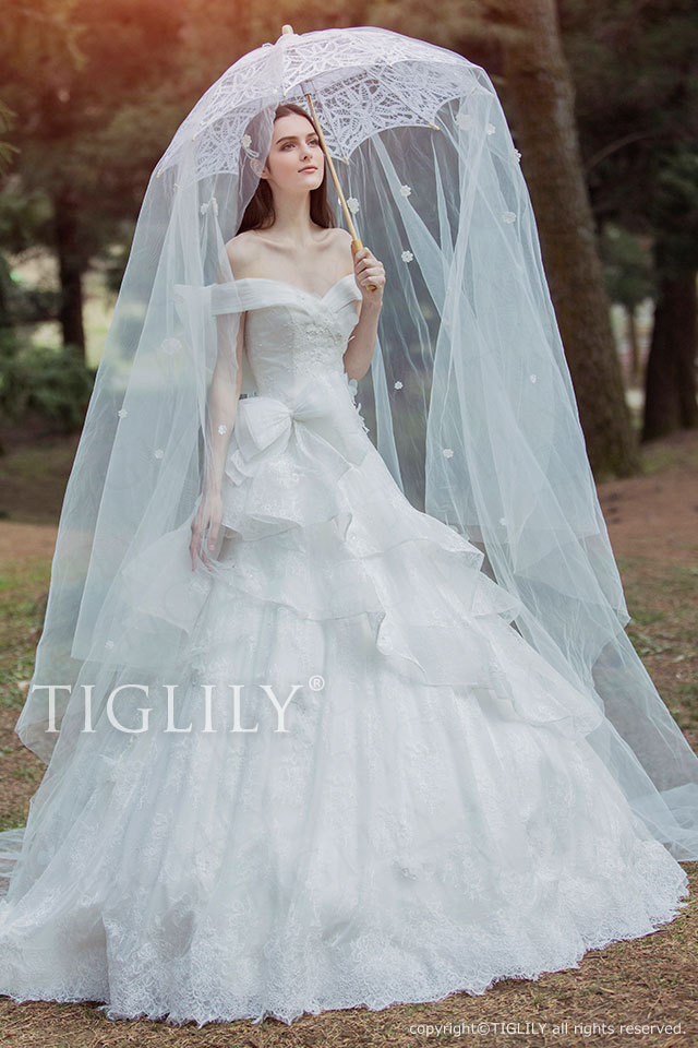 Regina レジーナ TIGLILY ホワイトドレス w327