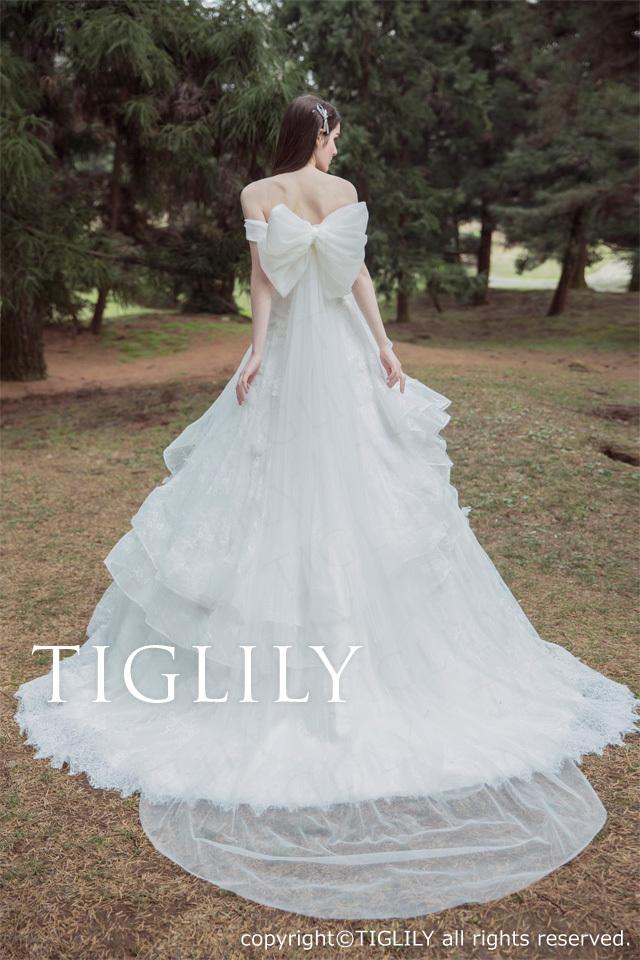 TIGLILY ホワイトドレスw327