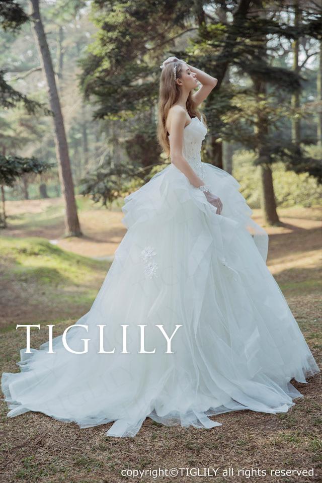 TIGLILY ホワイトドレスw328
