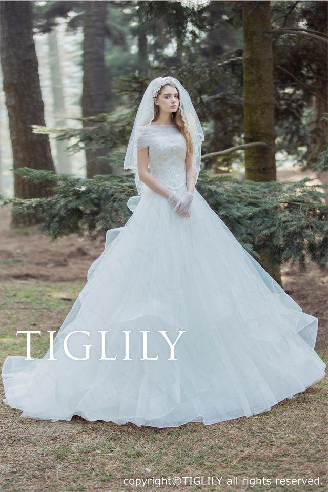 w329 TIGLILY ホワイトドレス ジョアンナ Joanna