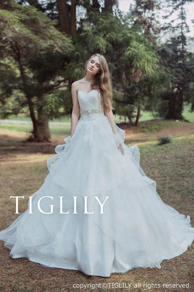 w331 TIGLILY ホワイトドレス レベッカ Rebecca