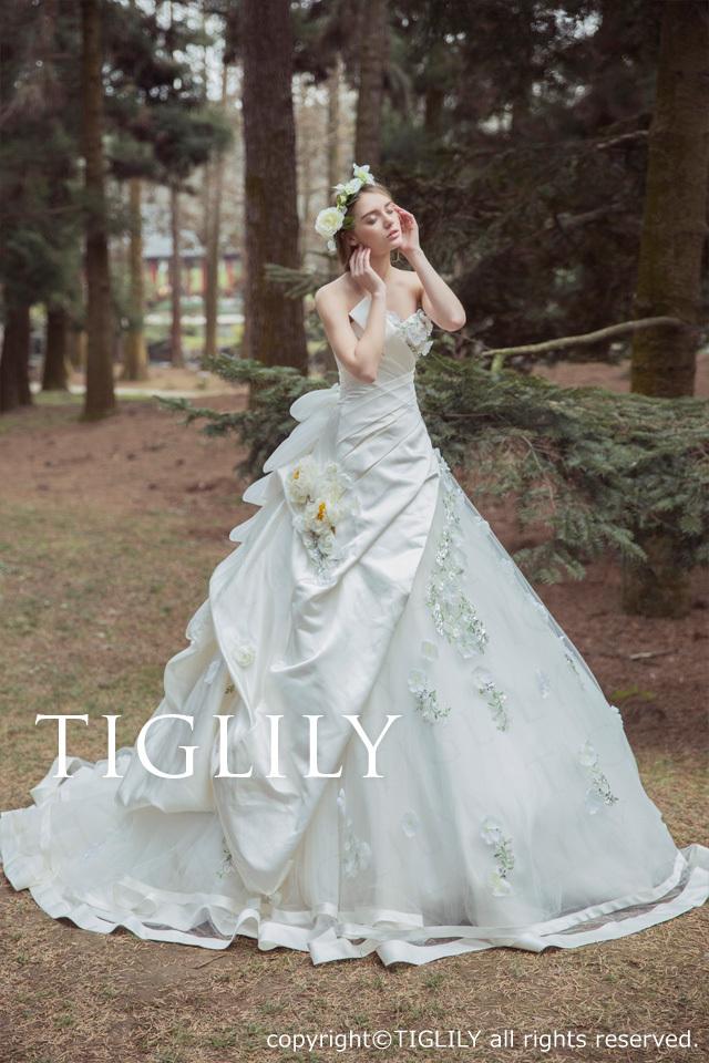 TIGLILY ホワイトドレスw333