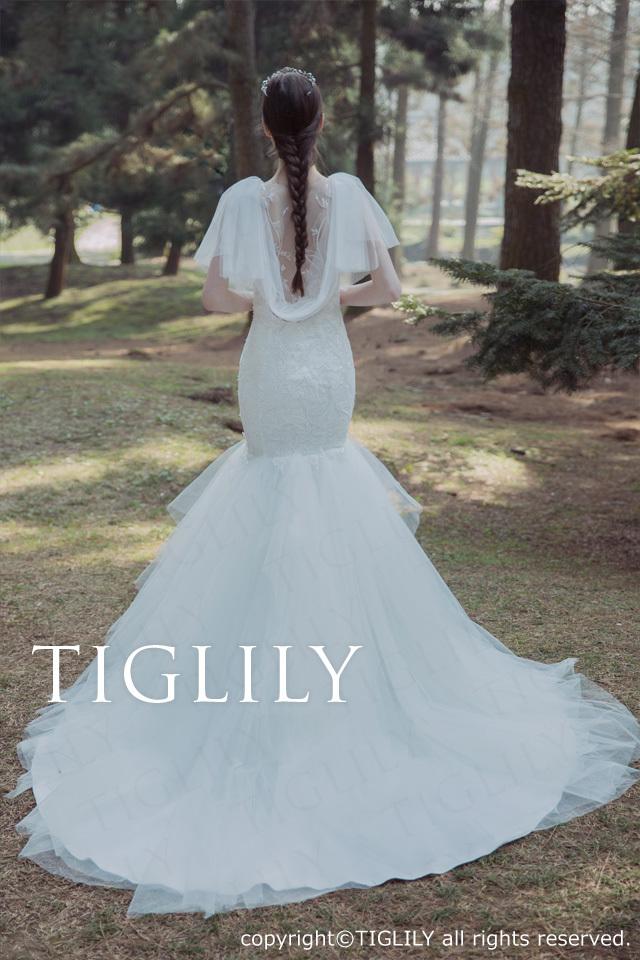 TIGLILY ホワイトドレスw336