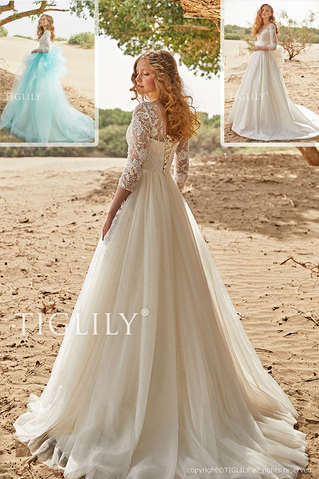 【キャサリン Katherine】ウエディングドレス_ホワイトドレス(w350)