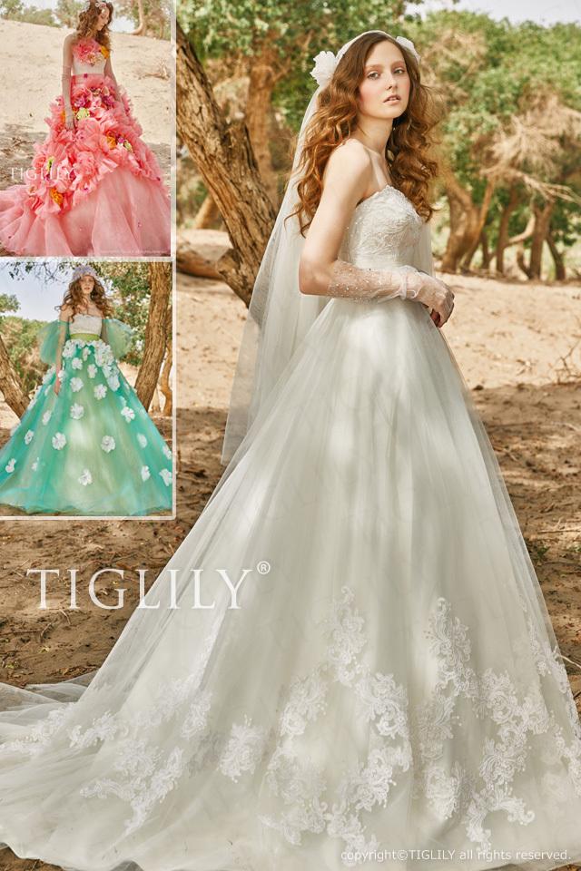 【クリスティーナ Christina】ウエディングドレス_ホワイトドレス(w352)