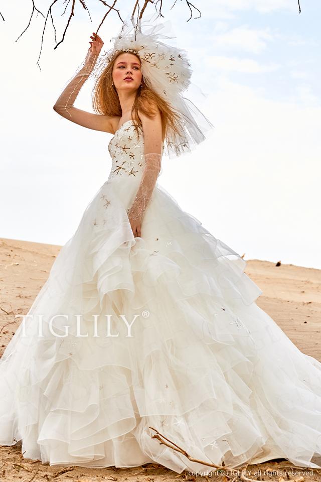 【ラフィーネ Raffine】ウェディングドレス_ホワイトドレス(w362)