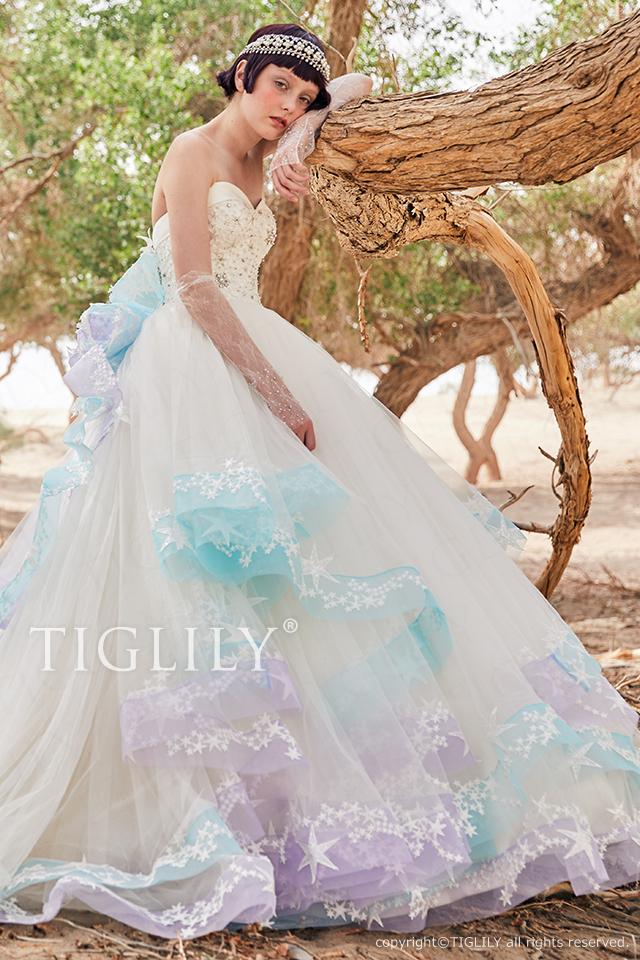 【リブラ Libra】ウェディングドレス_ホワイトドレス(w366)