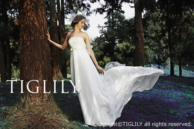 TIGLILY ホワイトドレス w676