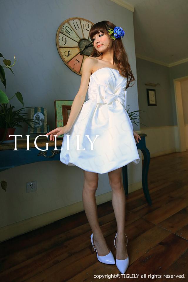 TIGLILY ミニドレス s063