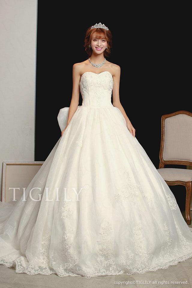 w1107 TIGLILY ホワイトドレス