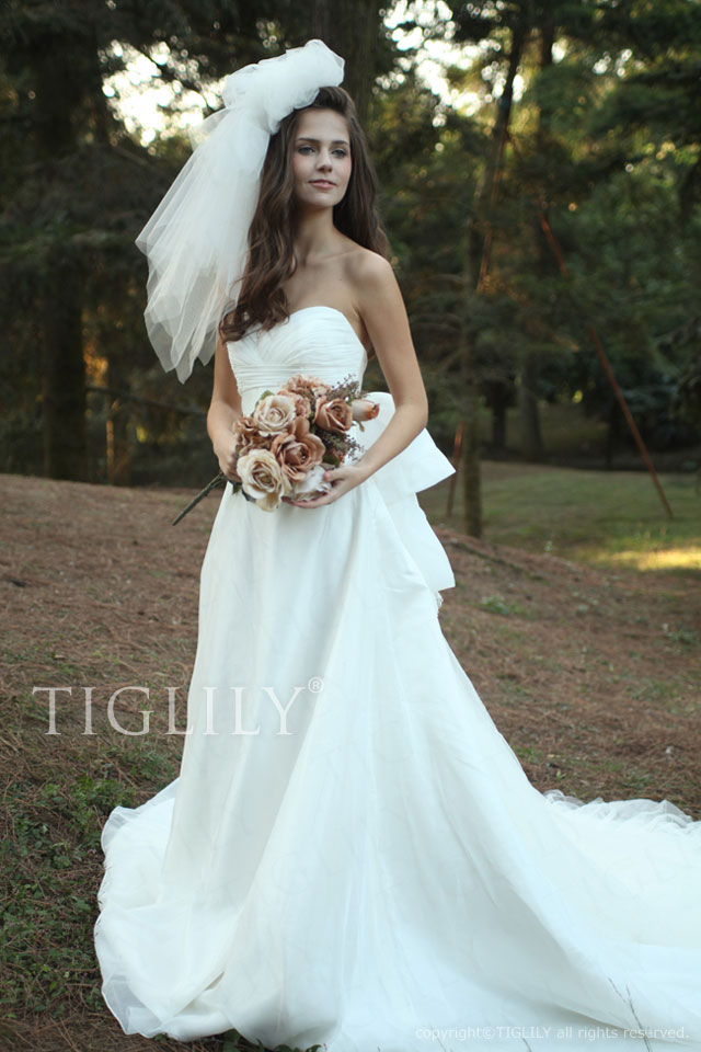 w2003 TIGLILY ホワイトドレス