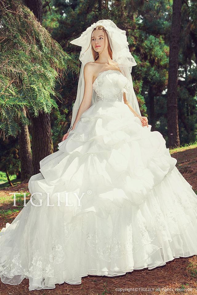w2016 TIGLILY ホワイトドレス