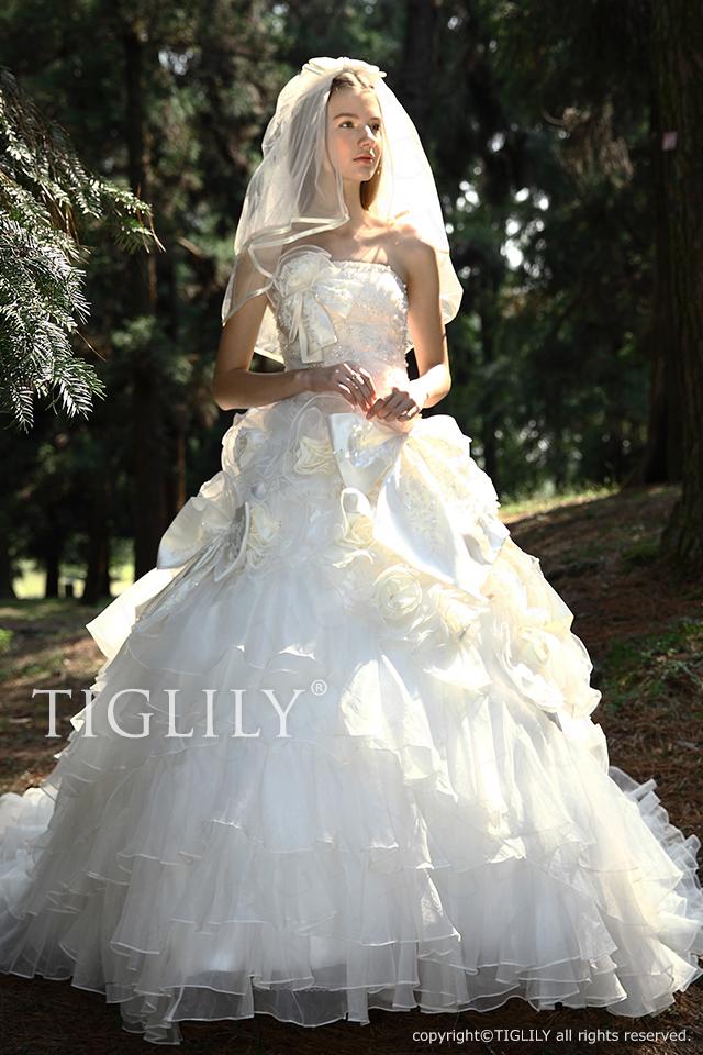 w2028 TIGLILY ティグリリィ ホワイトドレス