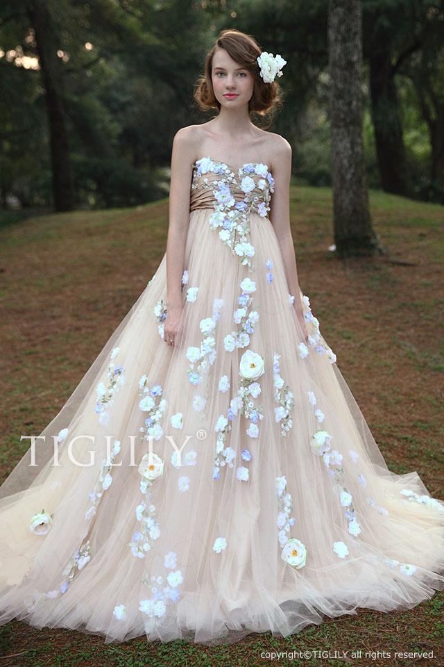 w2030 TIGLILY ホワイトドレス アビー Abbie