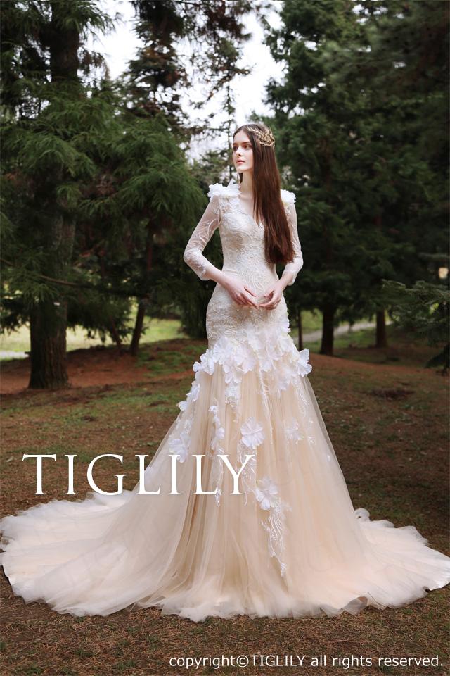 TIGLILY ホワイトドレスw325