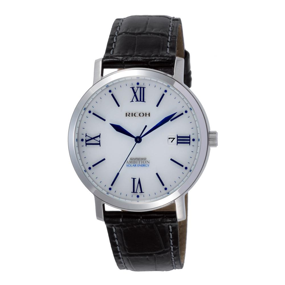 男性用ソーラータイプ腕時計 シュルードアンビション 697008-08