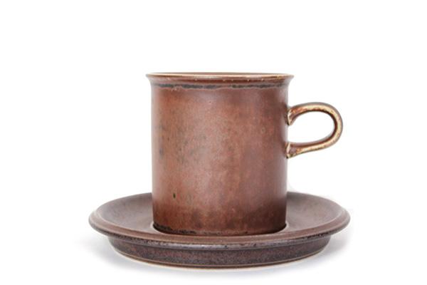 ARABIA ルスカ            コーヒーカップ&ソーサー160ml/CC4