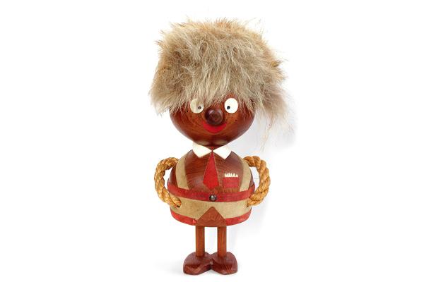 木製トロール  少年A(デンマーク)