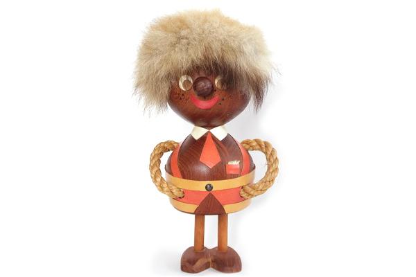 木製トロール  少年B(デンマーク)