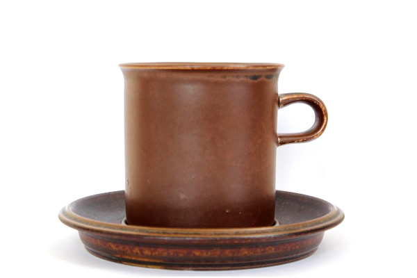 ARABIA ルスカ            コーヒーカップ& ソーサー(Lサイズ) CS1