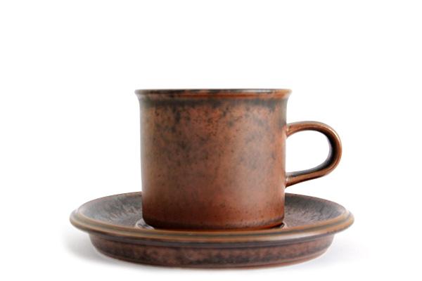 ARABIA ルスカ            コーヒーカップ&ソーサー(miniサイズ)/ CS1