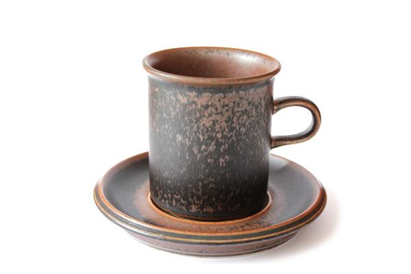 ARABIA ルスカ            コーヒーカップ&ソーサー160ml/CC1