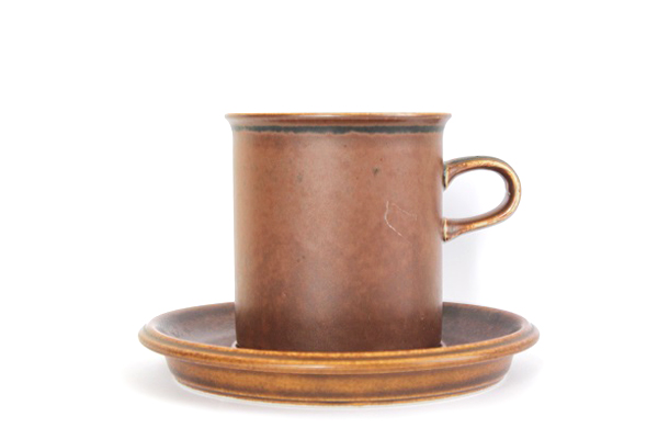 ARABIA ルスカ            コーヒーカップ&ソーサー160ml/CS1
