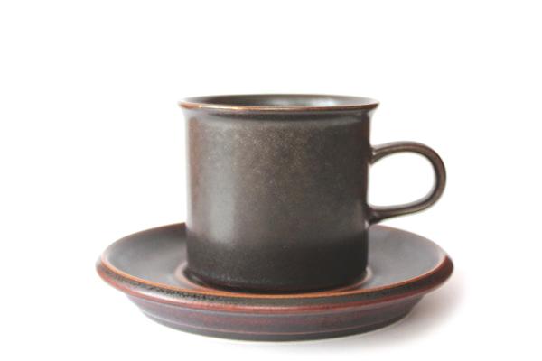 ARABIA ルスカ            コーヒーカップ&ソーサー/ mini No.1