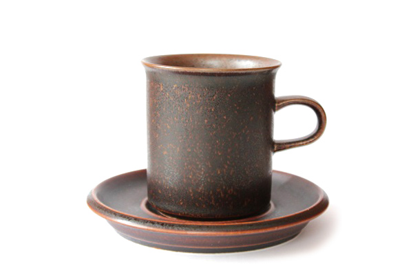 ARABIA ルスカ            コーヒーカップ&ソーサー160ml/CC3