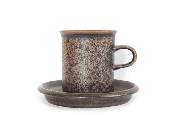 ARABIA ルスカ            コーヒーカップ&ソーサー160ml/CS4