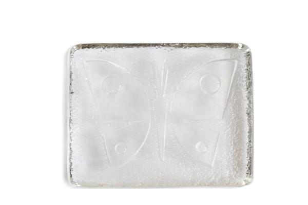 Stockholms glas bruk    ペーパーウェイト / 蝶々
