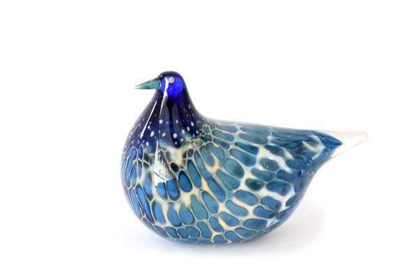 ガラスの鳥  クリアー系ブルー/ No.106