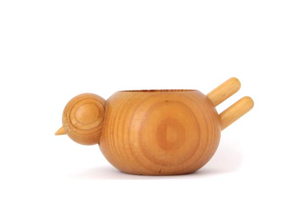 aarikka アーリッカ          小鳥のボウル/ 木製