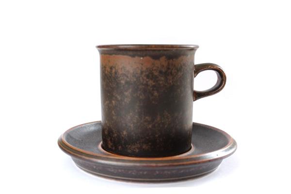 ARABIA ルスカ            コーヒーカップ&ソーサー160ml/S3