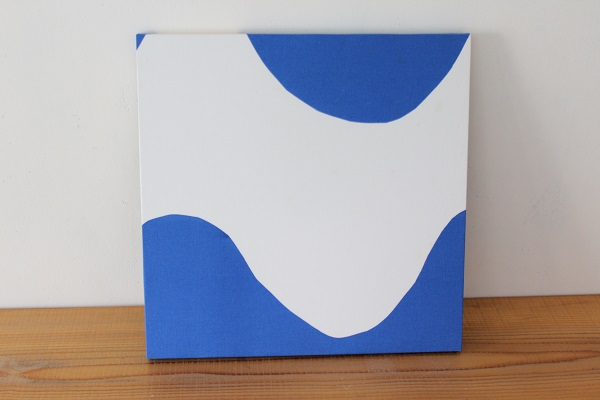 北欧ヴィンテージ           ファブリックパネル40cm / Lokki ブルー