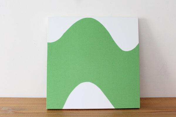 北欧ヴィンテージ           ファブリックパネル40cm / Lokki グリーン