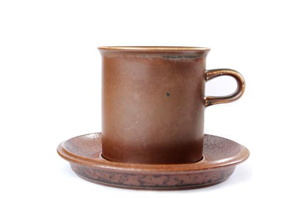ARABIA ルスカ            コーヒーカップ& ソーサー(Lサイズ) L1