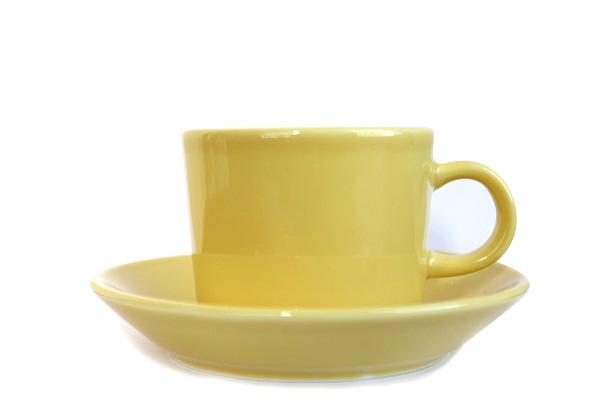 ARABIA TEEMA           コーヒー C & Sイエロー/ CC1