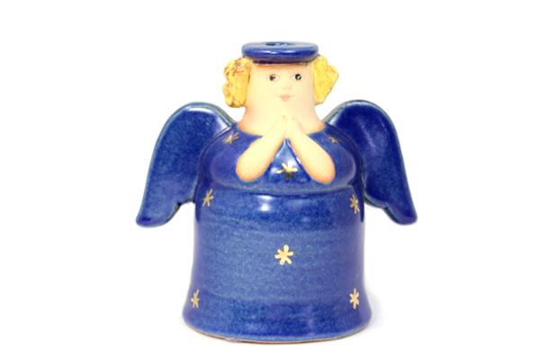 天使キャンドルホルダー/ブルー B