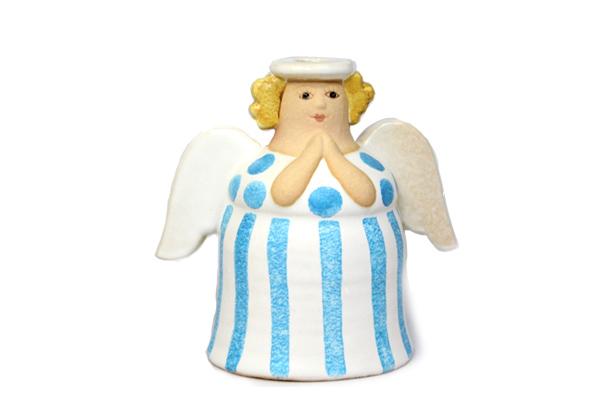 天使キャンドルホルダー/ホワイト B