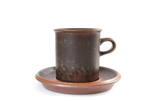 ARABIA ルスカ            コーヒーカップ&ソーサー160ml/S2
