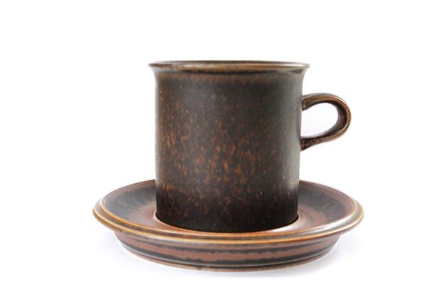 ARABIA ルスカ            コーヒーカップ& ソーサー(Lサイズ) L2