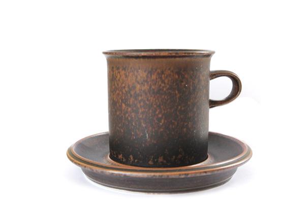ARABIA ルスカ            コーヒーカップ& ソーサー(Lサイズ) L3