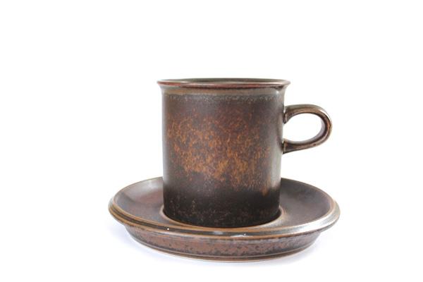 ARABIA ルスカ            コーヒーカップ&ソーサー160ml/S4