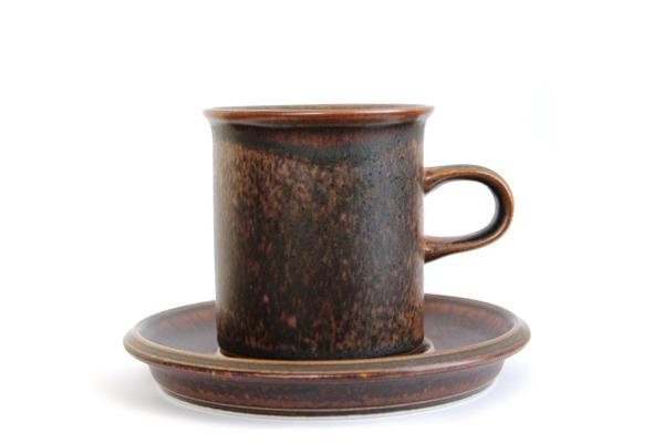 ARABIA ルスカ            コーヒーカップ&ソーサー160ml / CS3