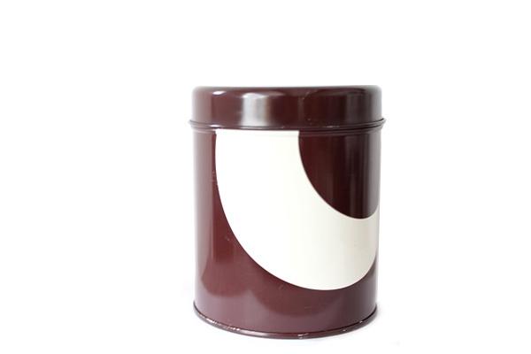 aarikka アーリッカ            コーヒー缶 Sサイズ/ ブラウン
