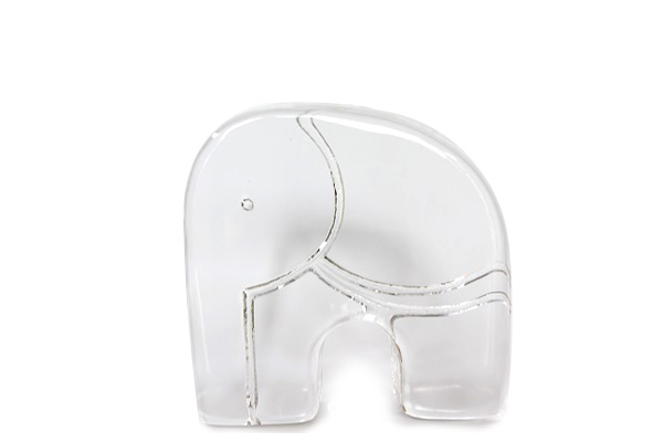 KOSTA BODA         象 ペーパーウェイト/ガラス製品