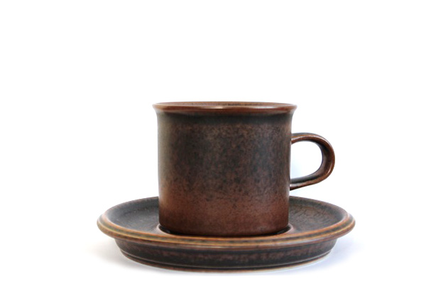 ARABIA ルスカ            コーヒーカップ&ソーサー140ml / CS1