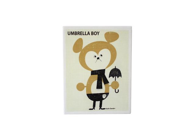 FLIP イラストレーション      UMBRELLA BOY / S size